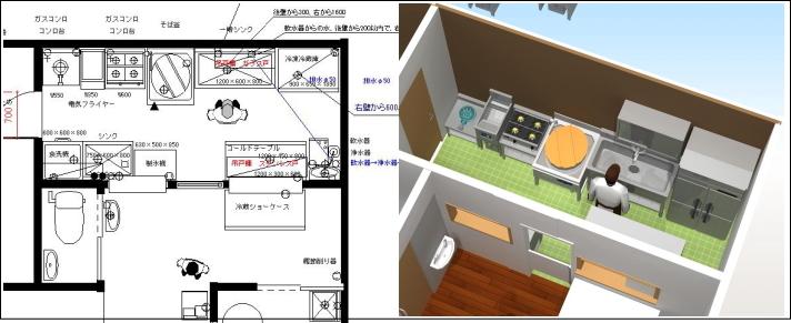 3D厨房設計