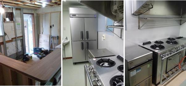 弁当屋厨房設計