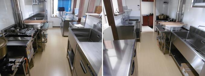 手打そば厨房機器と設計